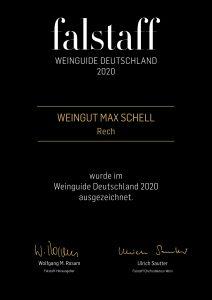 2020 falstaff Urkunde